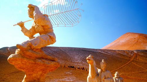 新疆哈密沙漠雅丹地貌-1