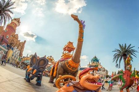 [国庆]<常州中华恐龙园1日游>置身侏罗纪世界,玩转东方侏罗纪主题乐园,亲子/家庭/周末嗨游