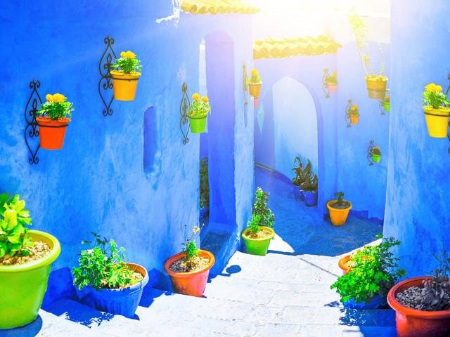 <摩洛哥特色城镇+撒哈拉沙漠6晚7日游>循环团、多地上团、卡萨布兰卡、马拉喀什、阿伊特本哈杜、梅祖卡沙漠、菲斯、舍夫沙万(当地参团)