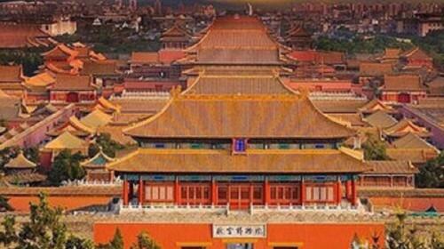 是世界上规模最大,保存最完整的紫禁城木结构宫殿建筑群.