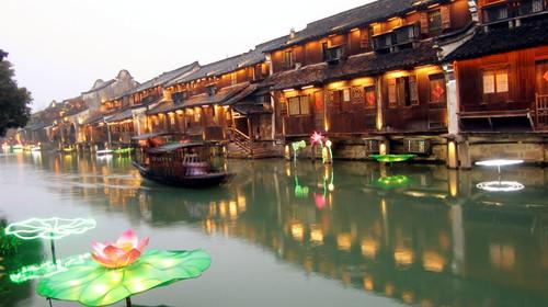 西塘高铁3日游 山东成团,双导游全程陪同,乌镇西塘南浔三水乡 升