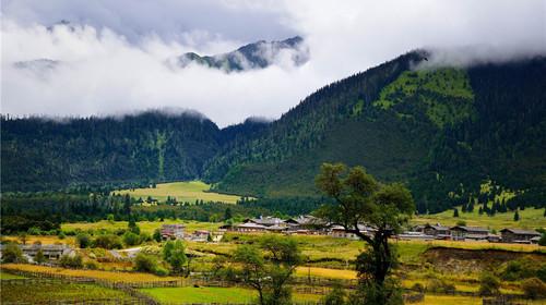 西藏拉萨-林芝-巴松错-大峡谷-鲁朗林海-日喀则卧飞图片