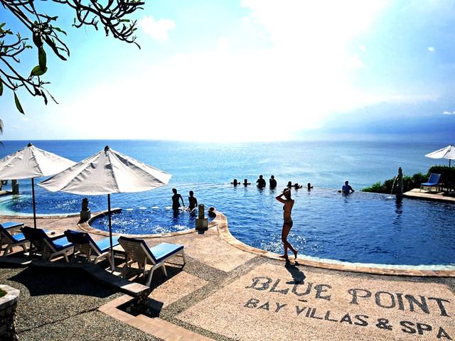 巴厘岛4晚6日游>漂流,情人崖,连住套房,金巴兰海滩bbq,精油spa,蓝点