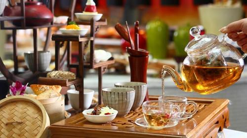 优先1晚精致悦榕庄或其他 1晚海边国际五星酒店 五星级希尔顿下午茶图片