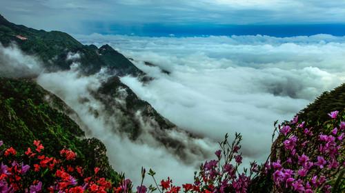 庐山-如琴湖-锦绣谷-三叠