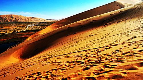 太阳简笔画 沙漠