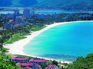 海南三亚哈曼度假酒店4日自助游>大东海山海双景观酒店,远离雾霾,舒图片