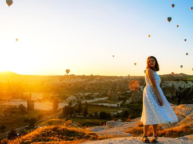 <土耳其热气球游>卡帕多奇亚热气球(当地游)