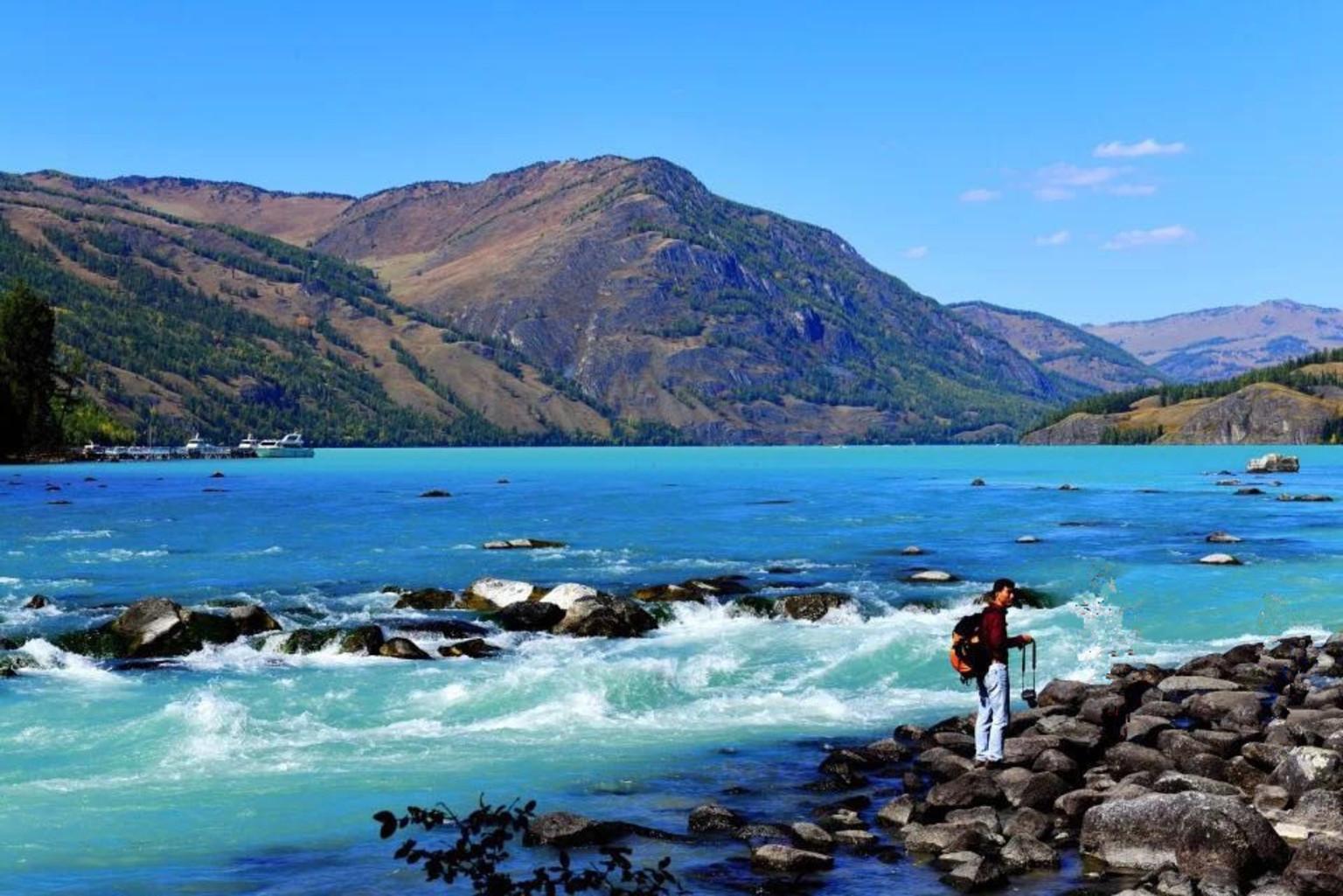 美丽的新疆我们来啦 上篇 游可可托海 五彩滩 喀纳斯