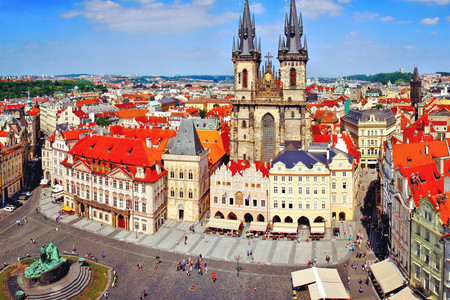 <欧洲-东欧-奥地利+捷克+匈牙利+斯洛伐克+德国+波兰12日游>杭州往返,30人团,卡航,4至5星,维也纳,美泉宫,WIFI