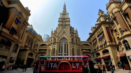意大利风情街 意大利风情街位于天津市河北区,原意大利租界,由河北区