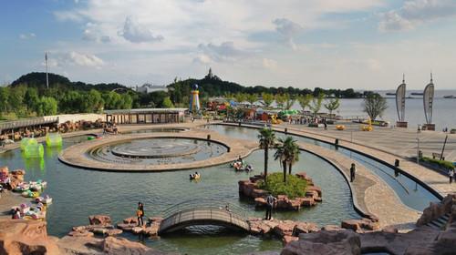 恒大威尼斯碧海银滩海滨浴场-狼山-滨江公园2日游>去