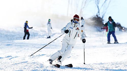 滑雪中心拥有一个无上至尊的娱乐项目----引进德国先进设备的滑道.