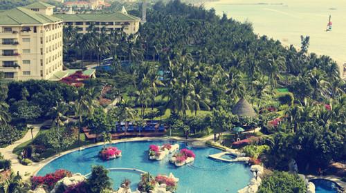 海南三亚-5日半自助游>3晚亚龙湾天域海景房,1晚蜈支洲岛珊瑚酒店,0