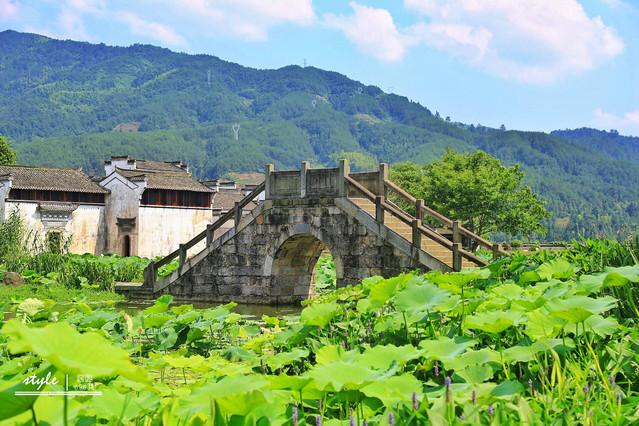 精心设计,施工,古村与自然环境和谐统一,以山为本,以水为魂的山水田园