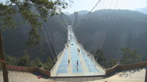 湖南张家界大峡谷玻璃桥-天门山玻璃栈道双高3日游>刺激挑战自我之旅