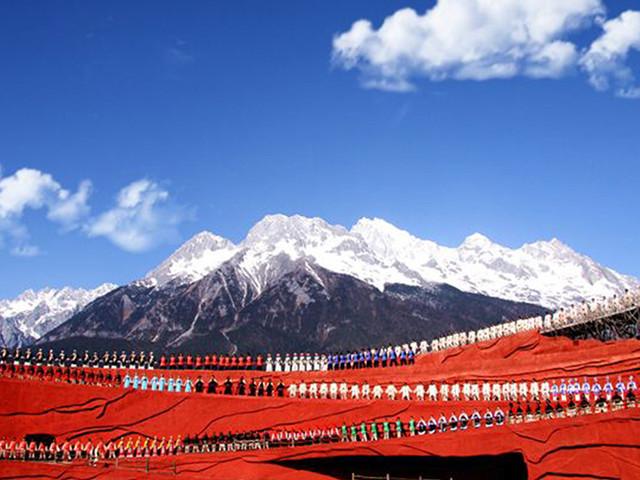 高清丽江风景照