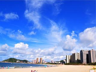 <阳江闸坡海陵岛海滩直通车2日游>入住山海湾假日酒店标准双床房