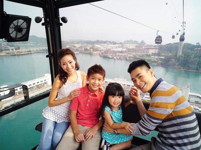 <新加坡缆车门票>可选花柏山顶自助午餐(含圣淘沙入岛费)