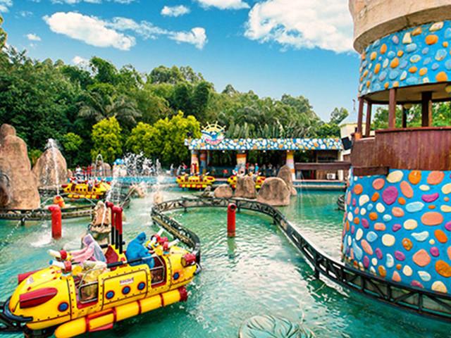 珠海长隆海洋王国-广州长隆野生动物园-欢乐世界双飞