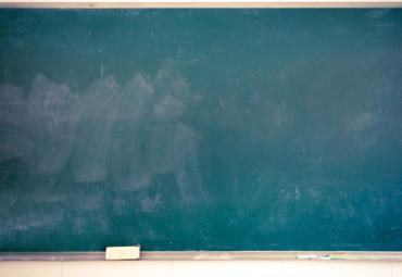 黑板手绘中国地图