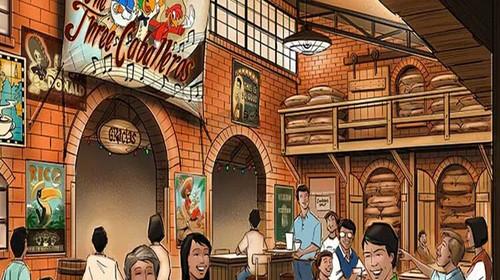 上海迪士尼餐厅效果图