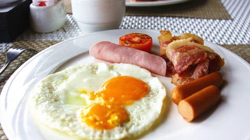 可爱宝宝动物营养早餐