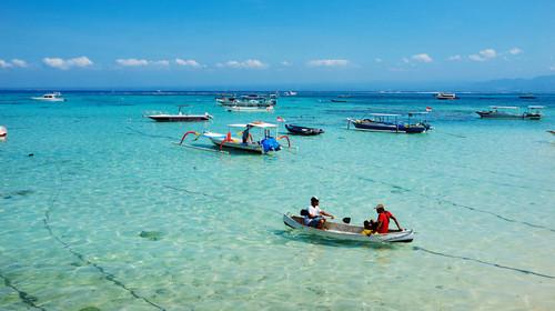 低满意度不用巴厘岛机票 当地4晚5或6日游>爱之船蓝梦岛出海,乌布