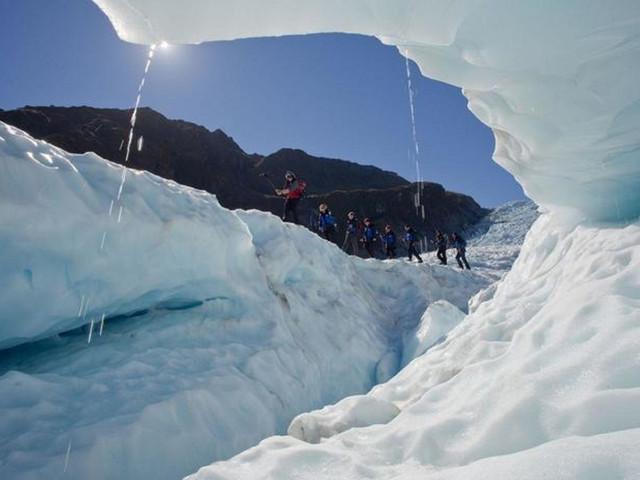 福克斯冰川直升机+攀冰体验(无需经验)