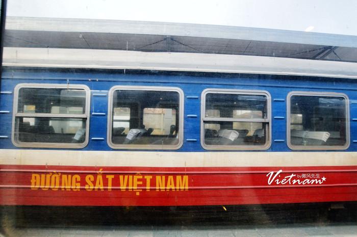 越南的火车窗户是不能打开的.