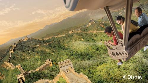上海迪士尼乐园-飞跃地平线头图