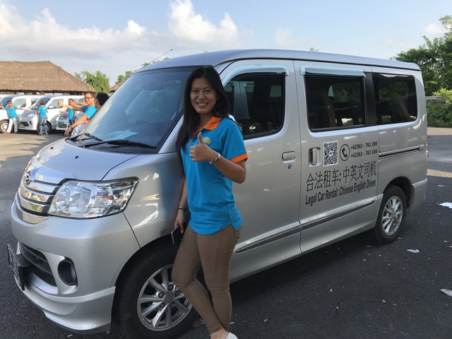 【巴厘岛用车】中/英文司机独立包车多种车型选择