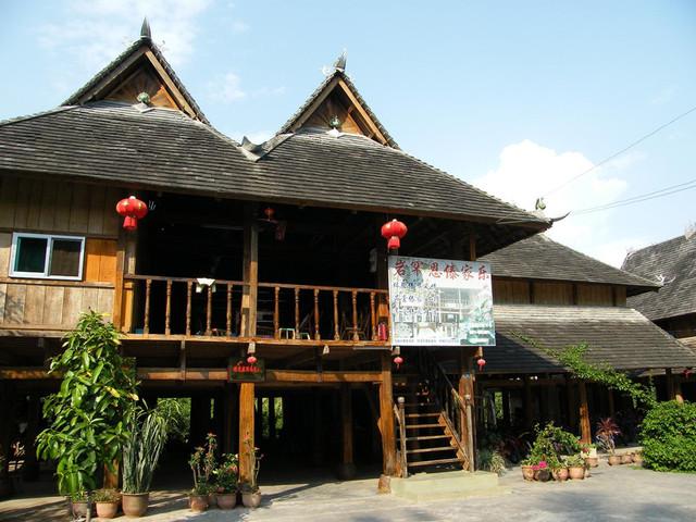 西双版纳-野象谷-原始森林公园-傣族民居-勐泐大佛寺图片