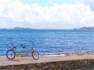 <深圳西冲-大鹏古城-杨梅坑-情人岛巴士1日游>BBQ烧烤,海边骑单车,激情快艇冲浪,无购物,带你享受不一样的旅游体验