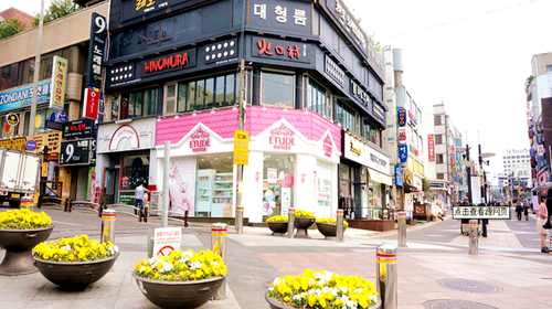 济州莲洞步行街
