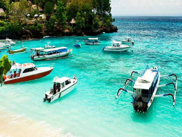 巴厘岛机票 5晚7日游>自营精致小团,独栋别墅国际五星酒店,蓝梦岛