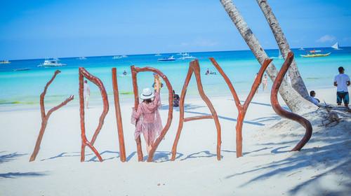 星期五海滩的#旅图换旅费# #海岛游# #旅拍#