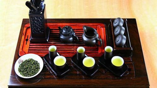 中国茶具使用步骤