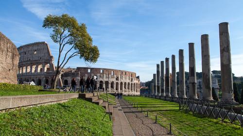 罗马斗兽场的#旅图换旅费# #名胜古迹# #建筑#
