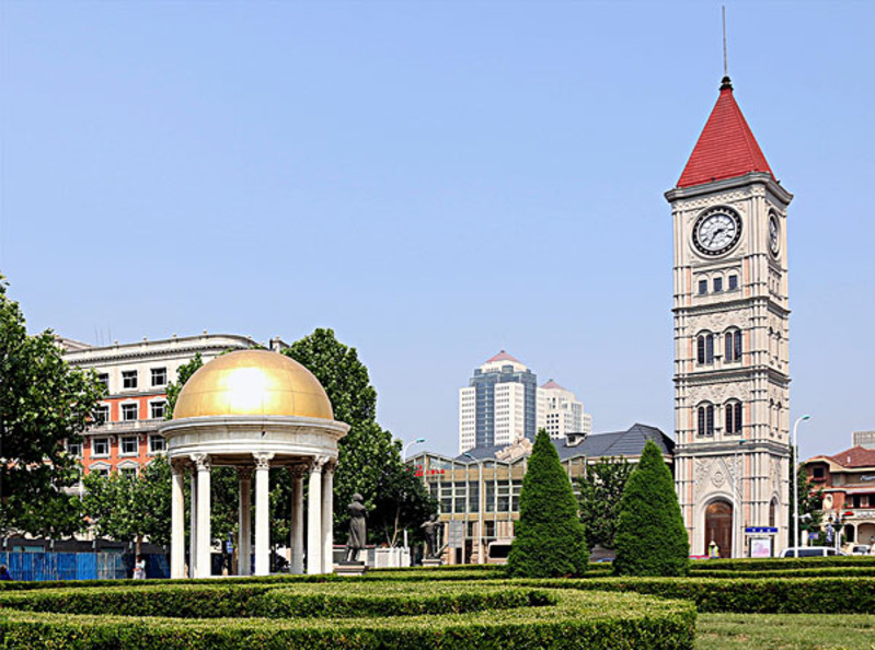 从天津自然博物馆到意式风情街地图 从天津自然博物馆到意式风情街线图片