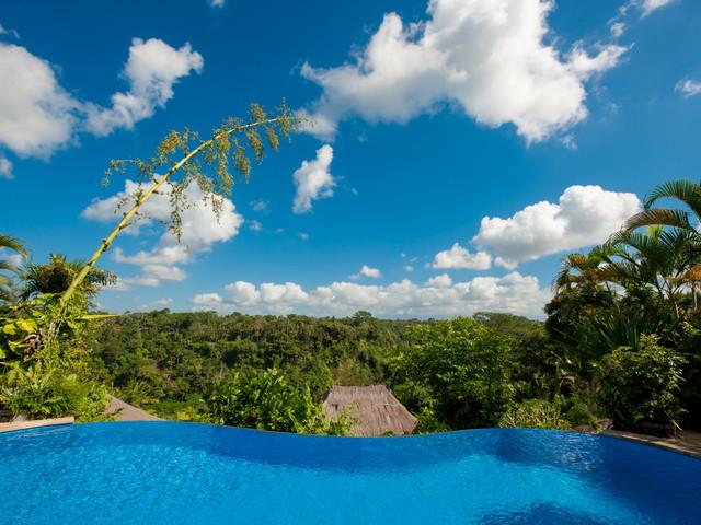 国际四星花园泳池酒店,皇家彼得曼哈下午茶,巴厘岛传统精油spa