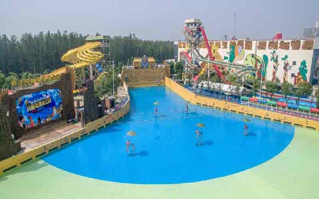 上海浦江饭店自驾3日游>玛雅海滩水公园,欢乐谷 多种图片