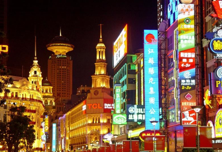 畅游上海南京步行街-畅游上海图片