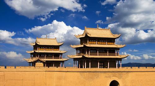 The Qinghai Lake scenery