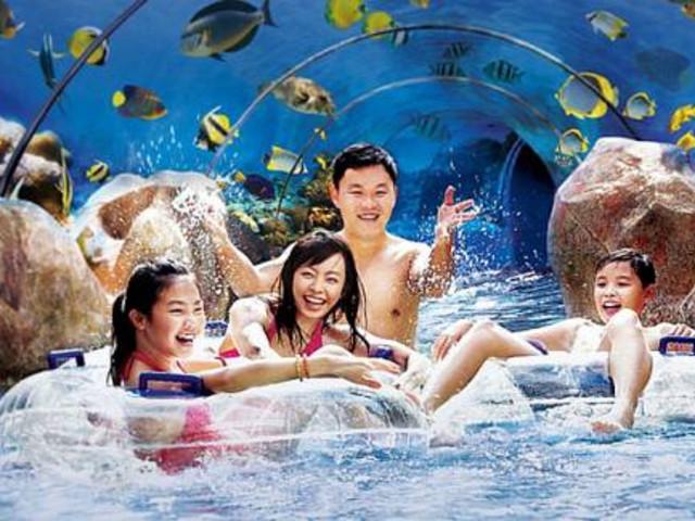 【底价特卖】<新加坡圣淘沙水上探险乐园门票>电子门票 有效期长达六个月