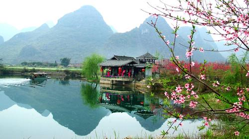 桂林-漓江-遇龙河-银子岩