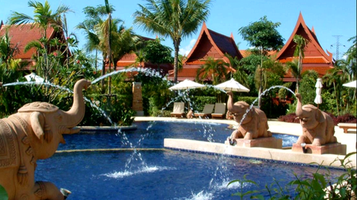住宿                                  普吉当地酒店:普吉岛