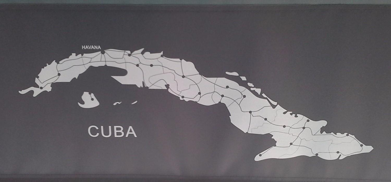 古巴岛地图