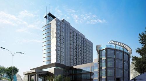 金水湾国际大酒店外观