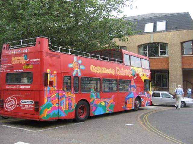<剑桥观光巴士24小时通票>(中文语音导览)
